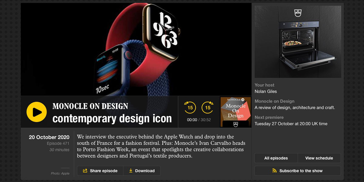 photo of Alan Dye talks Apple Watch UI design in new podcast episode image
