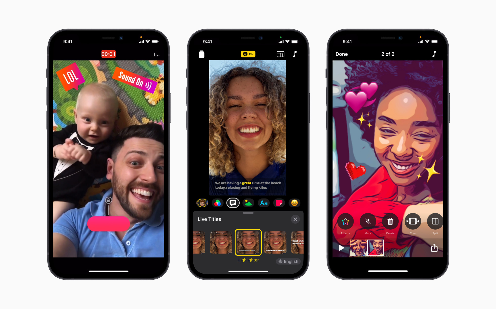 photo of Apple refreshes its Clips app with new UI, horizontal support, HDR recording on iPhone 12 image