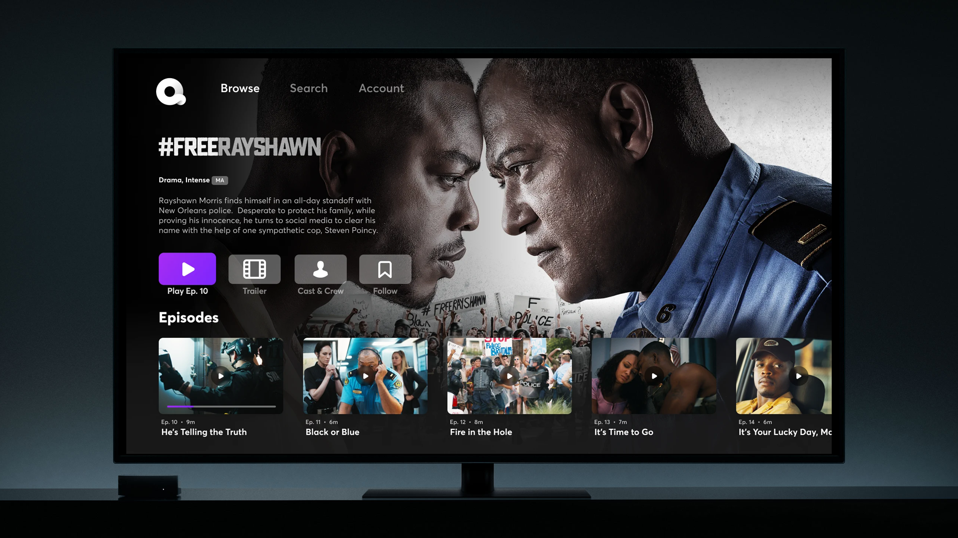 photo of Quibi is now available for Apple TV users with an official tvOS app image