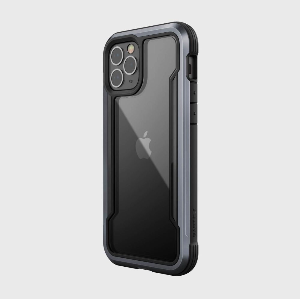 Raptic Shield iPhone 12 Black back