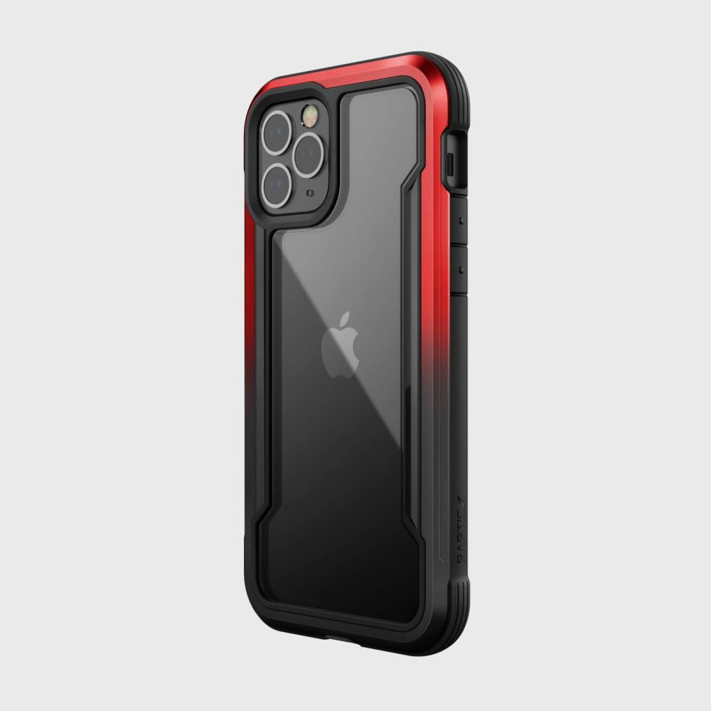 Raptic Shield iPhone 12 Red Gradient