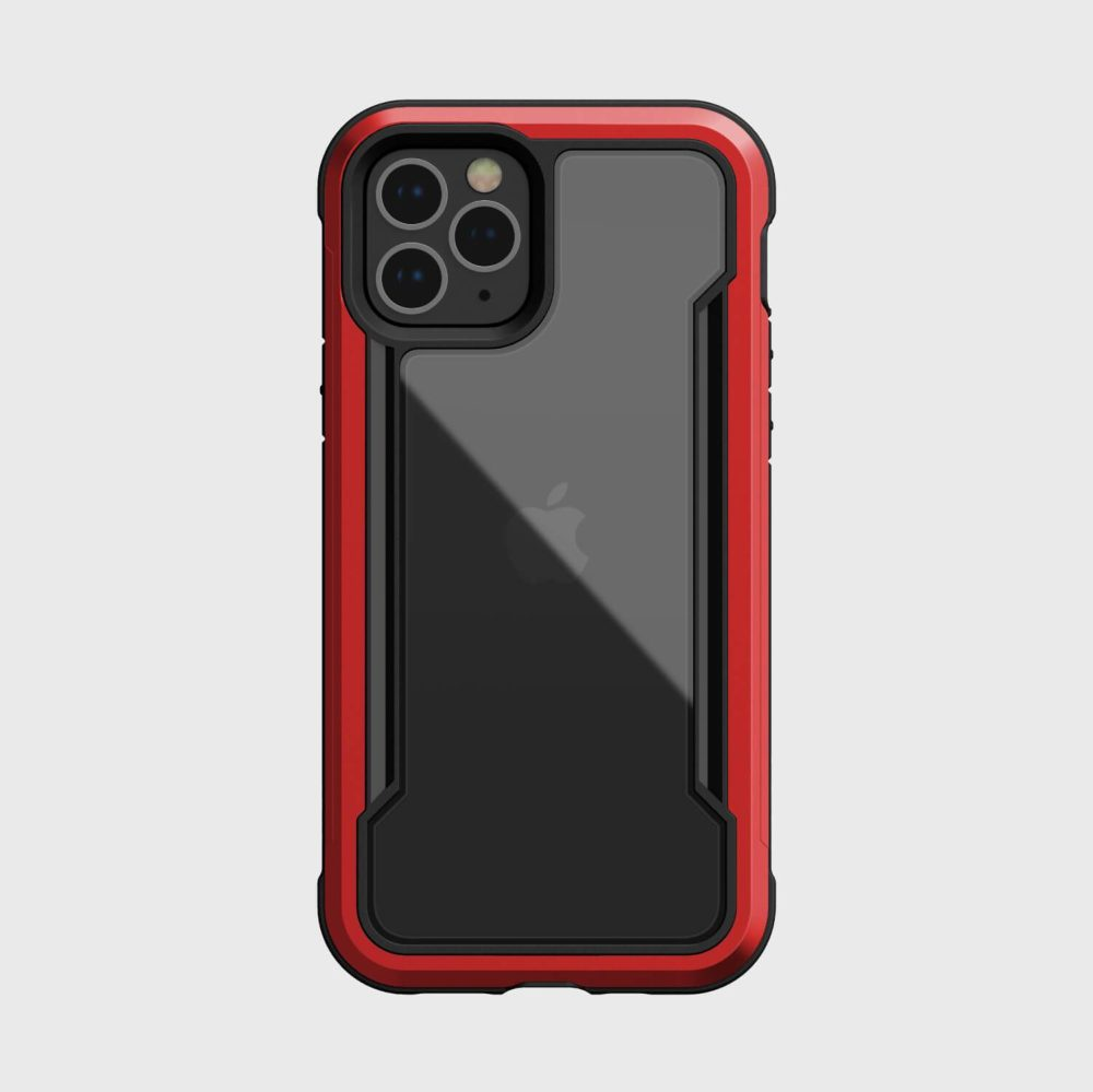 Raptic Shield iPhone 12 Red back
