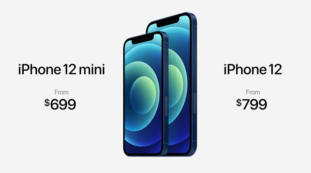 iPhone 12, prezzi americani