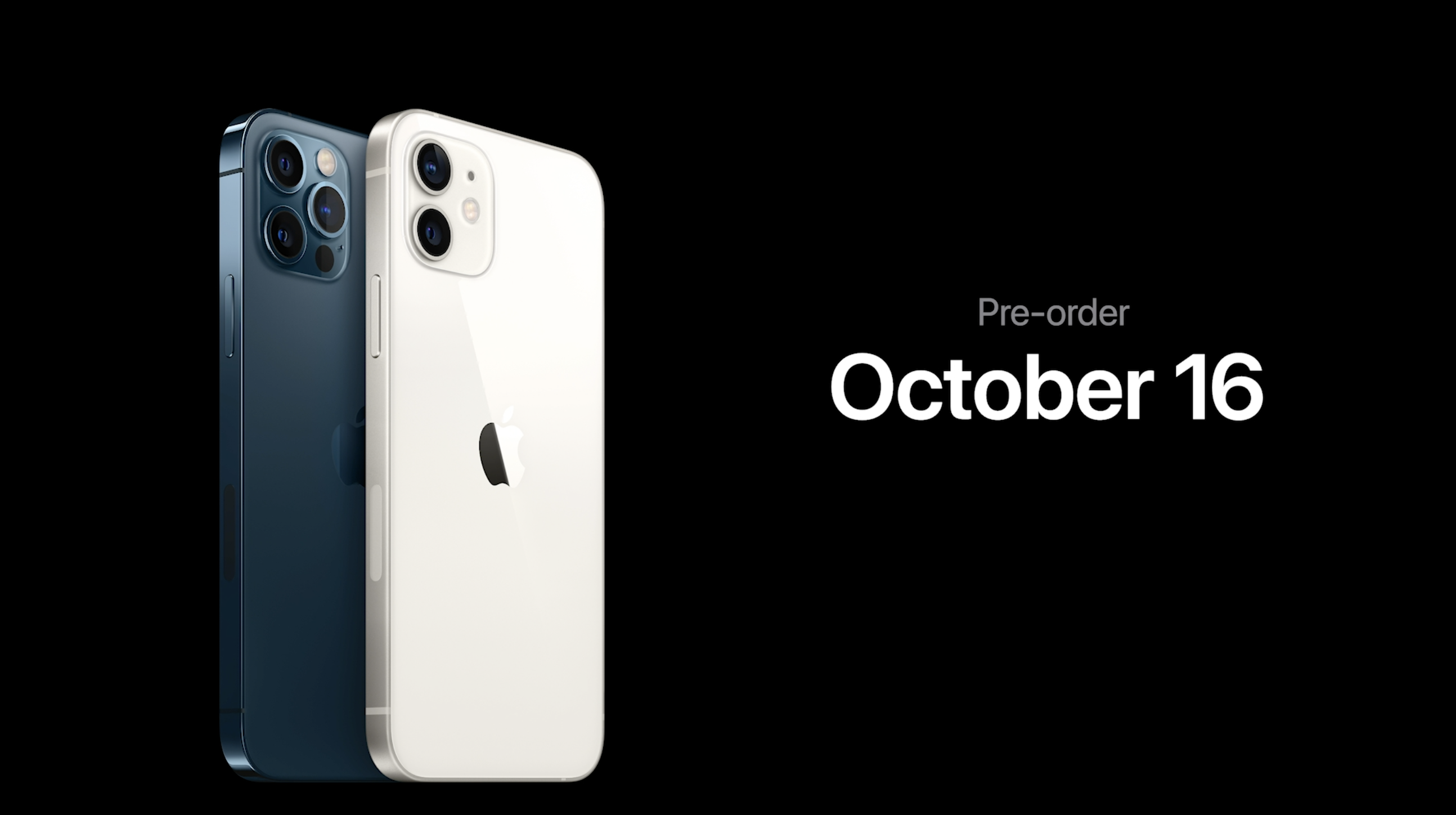 photo of iPhone 12 and iPhone 12 Pro now available to pre-order, first deliveries next week image