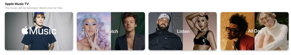 Apple Music TV channel