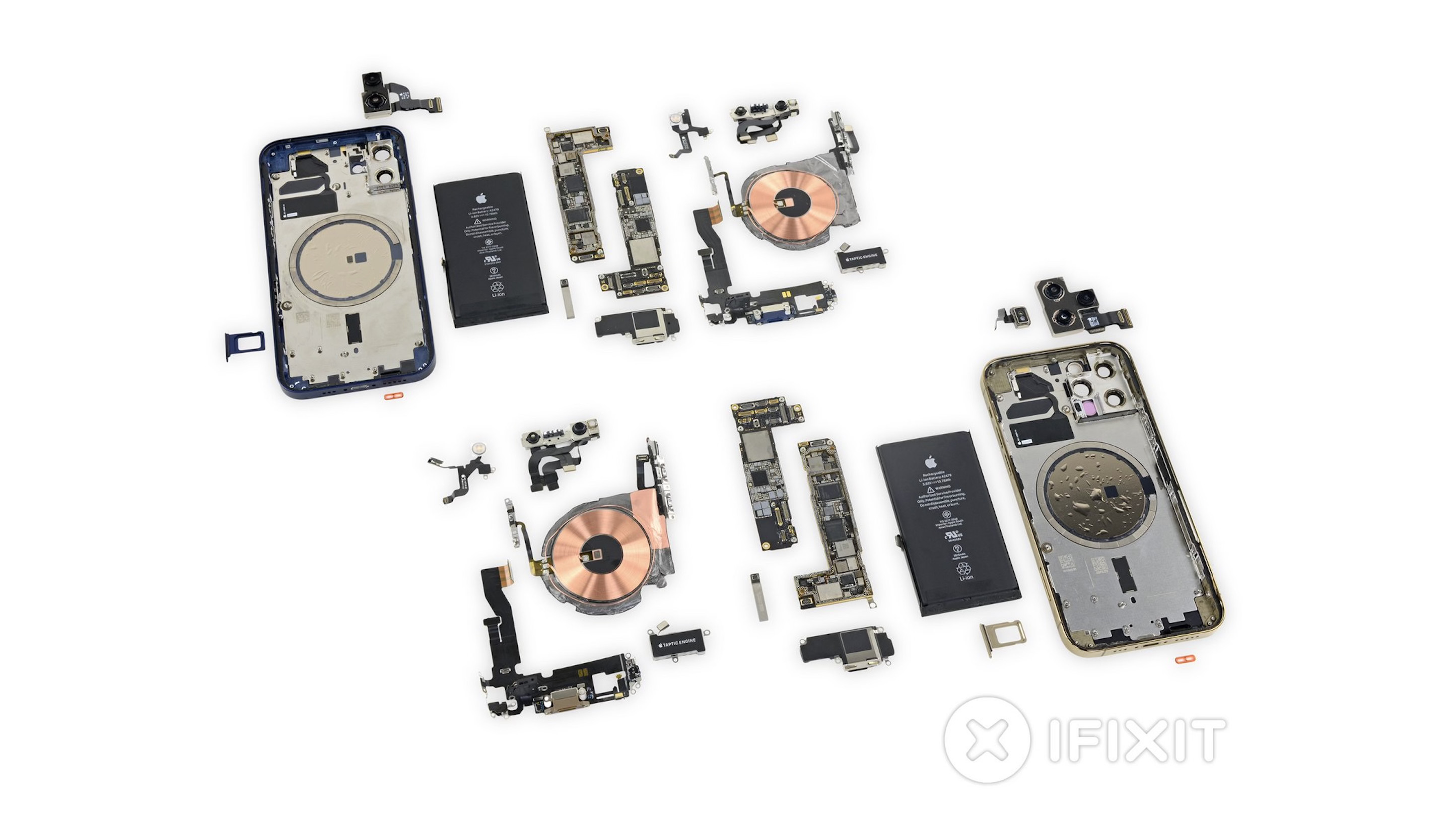 Full iPhone 12 and iPhone 12 teardown from iFixit reveals modular design with interchangeable parts