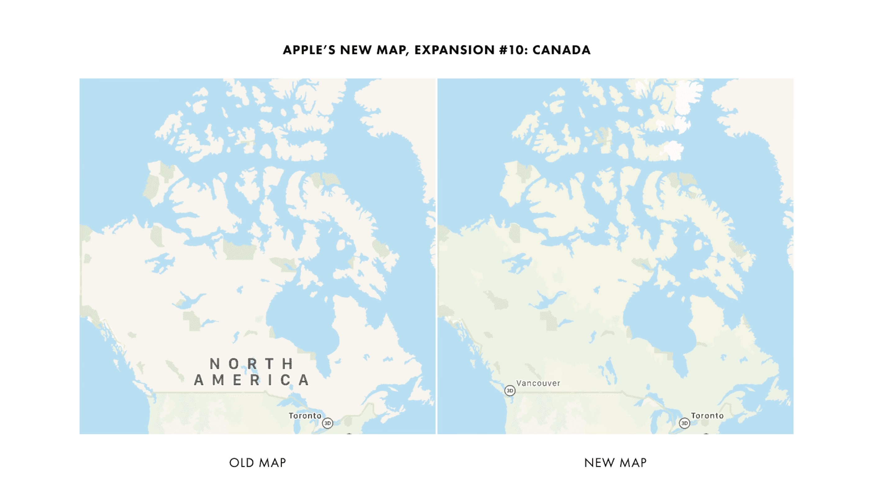 photo of Apple begins testing rebuilt Apple Maps in Canada with some users ahead of full release image