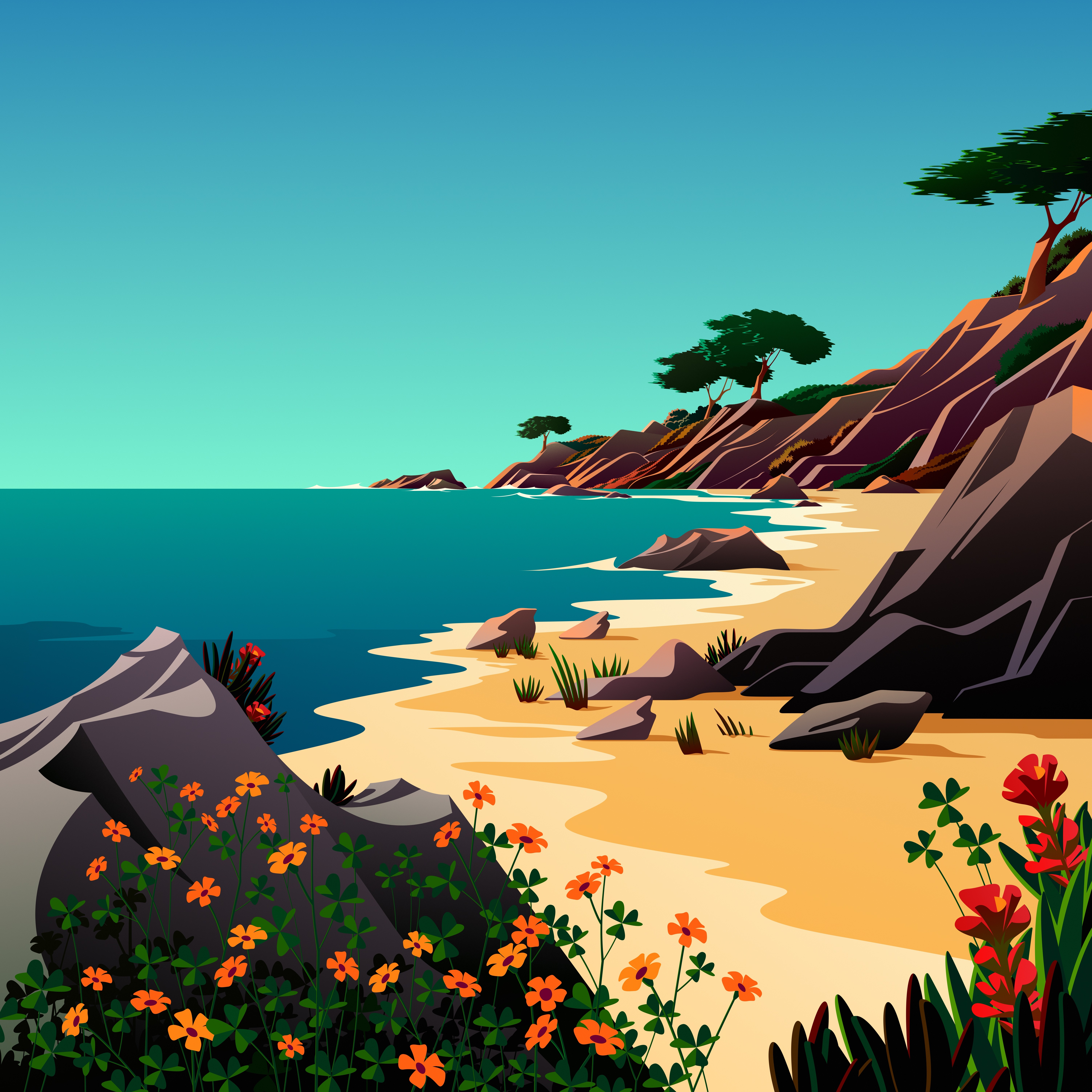 macOS Big Sur 11.0.1 includes even more new wallpapers ...