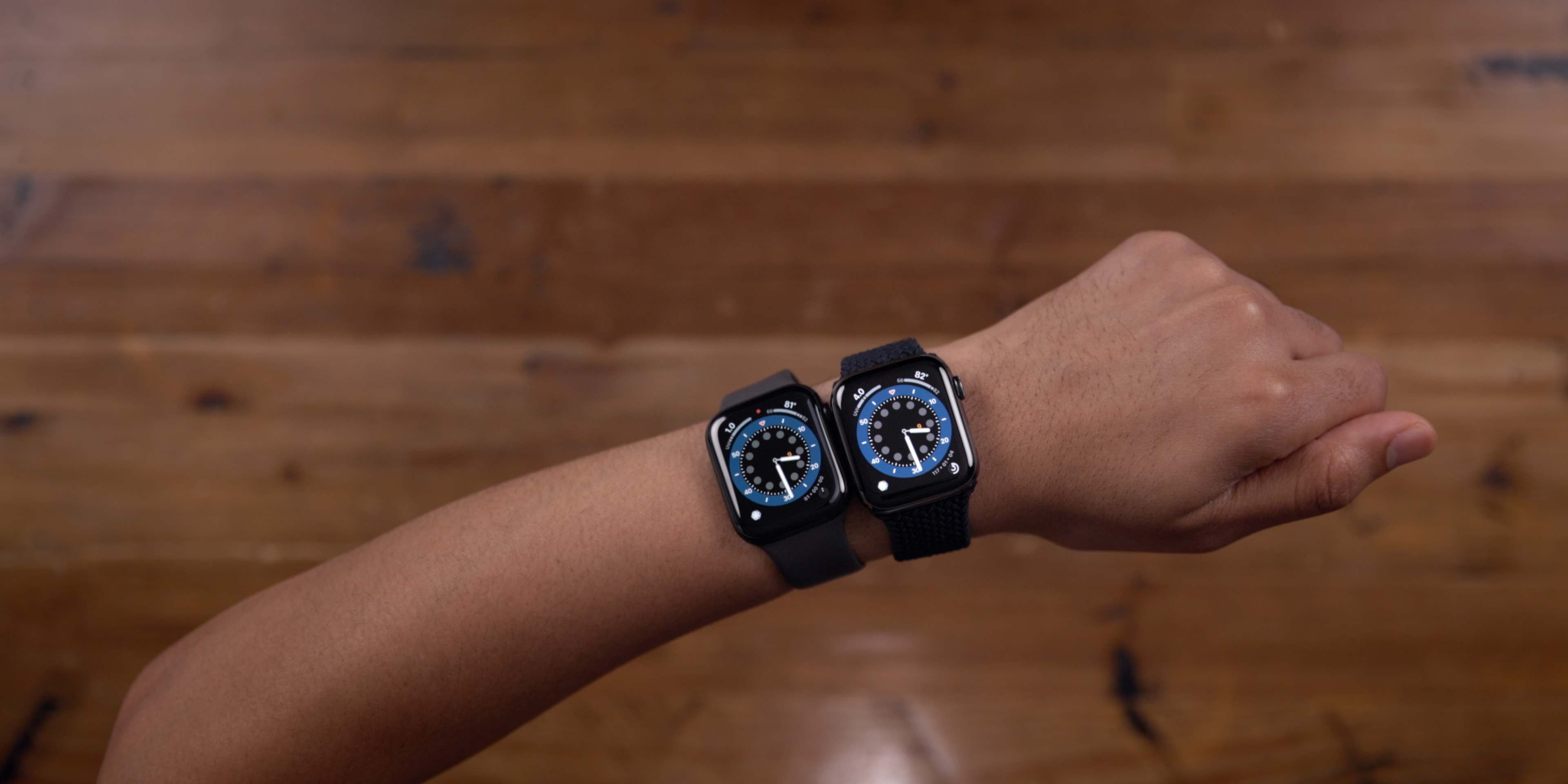 What apple watch should you buy series 6 brighter display wrist down sunlight