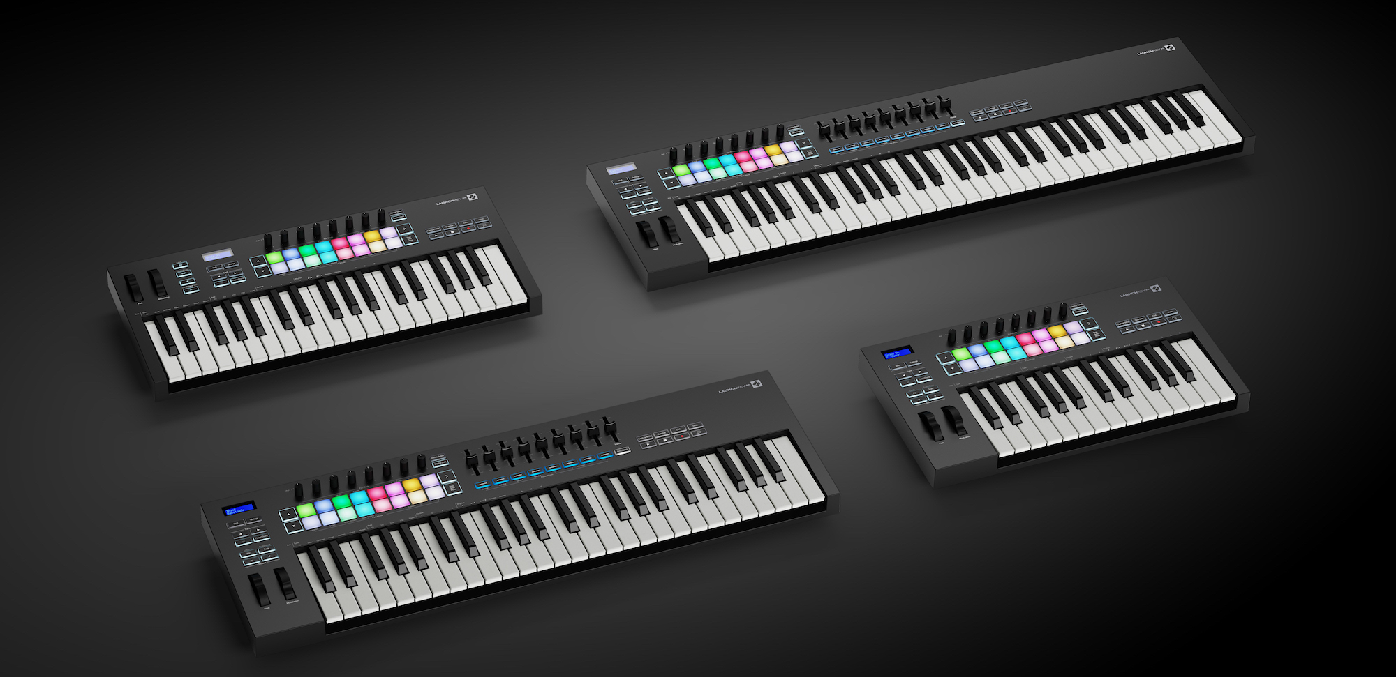 best MIDI keyboards-2020-Akai-Novation