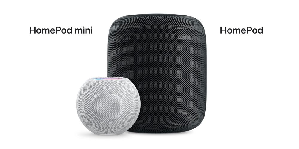 Confronto tra HomePod mini e HomePod