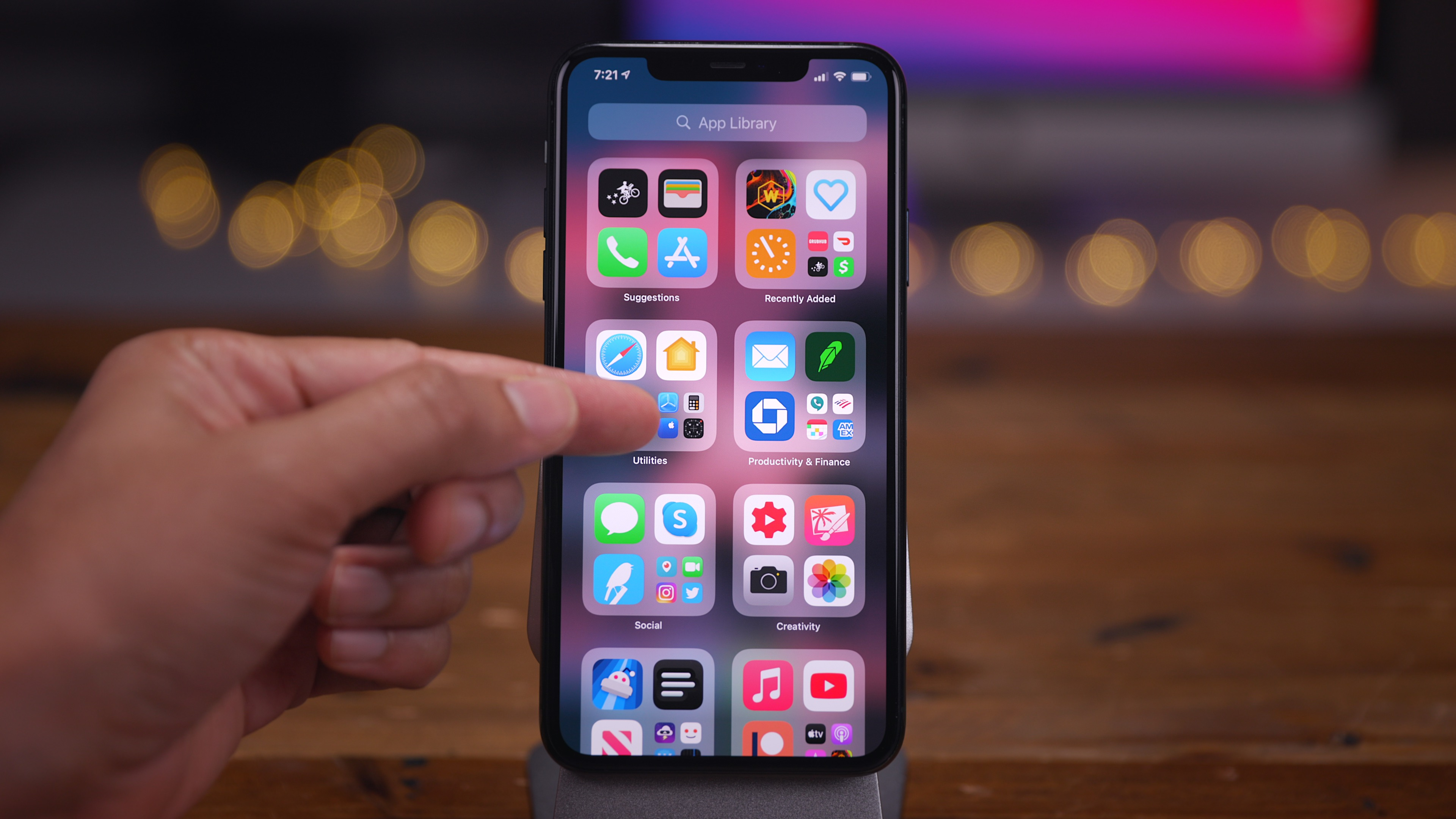 Ios 14 home screen tips and tricks how to view the app library