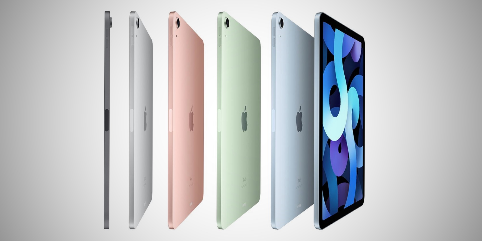 Couleurs de l'iPad Air