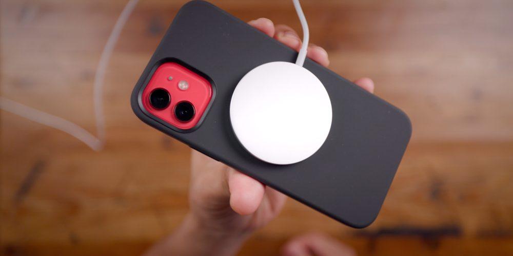 iPhone 12 MagSafe up close