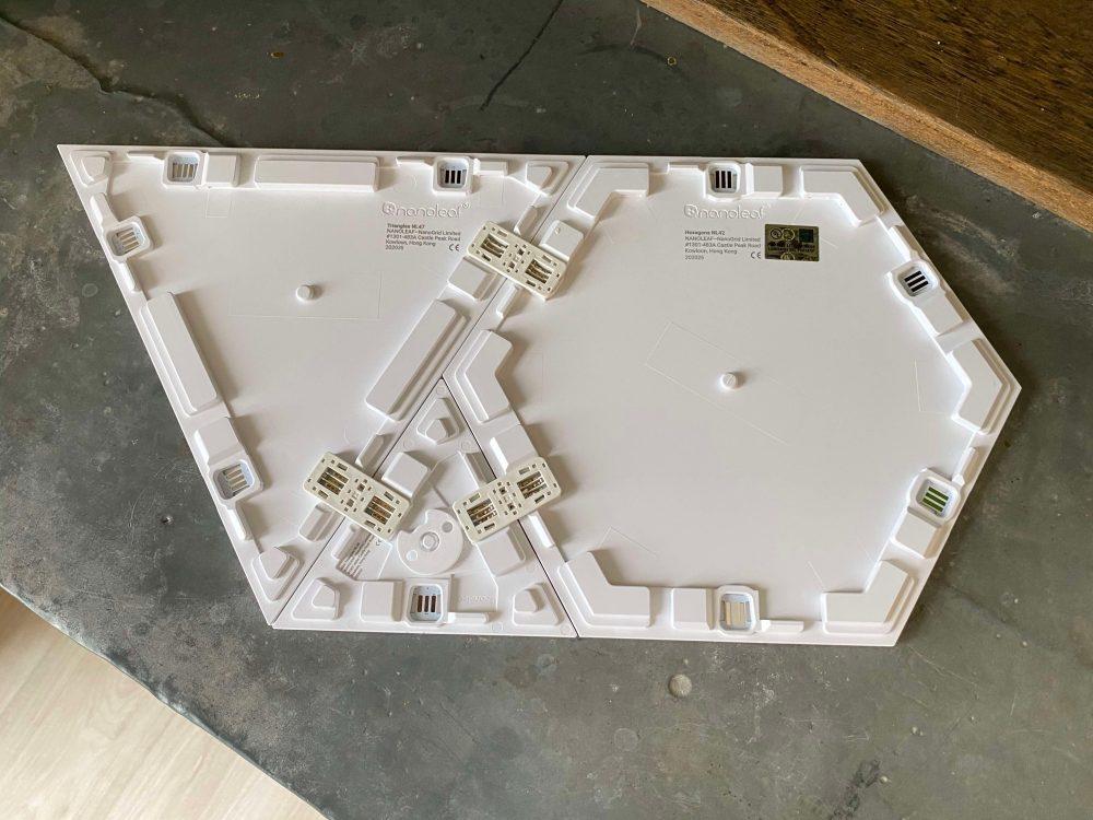Review Nanoleaf Shapes HomeKit lights panels