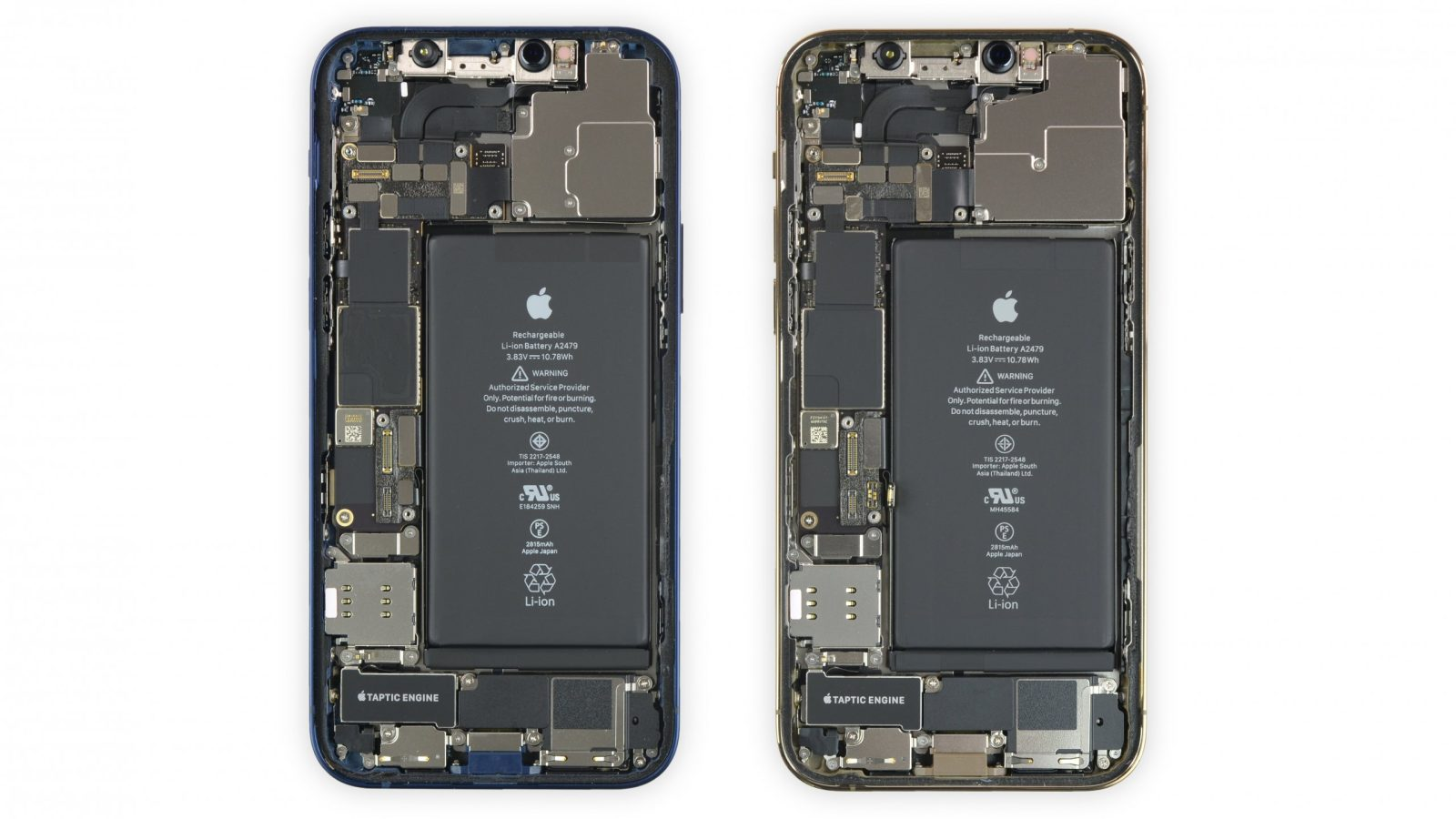 photo of Get a look inside your iPhone 12 with iFixit's new X-ray and internal wallpapers image