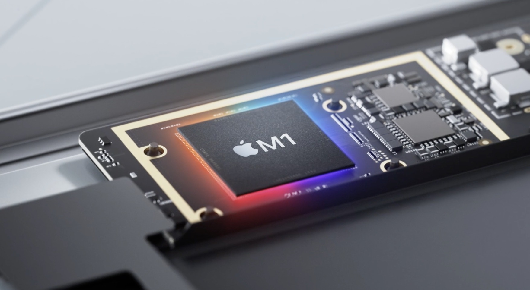 M1 MacBook Air vs Pro image of M1 chip