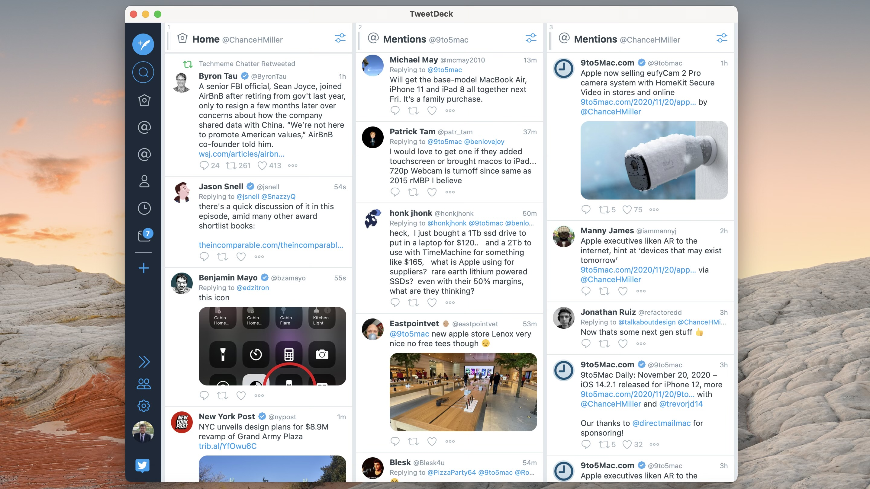 photo of TweetDeck for Mac updated to run natively on Apple Silicon M1 chip image