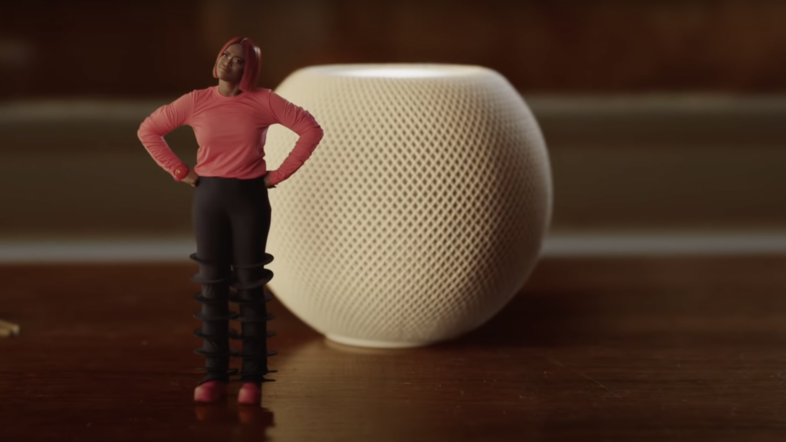 photo of Apple highlights HomePod in its annual holiday ad: 'the magic of mini' image