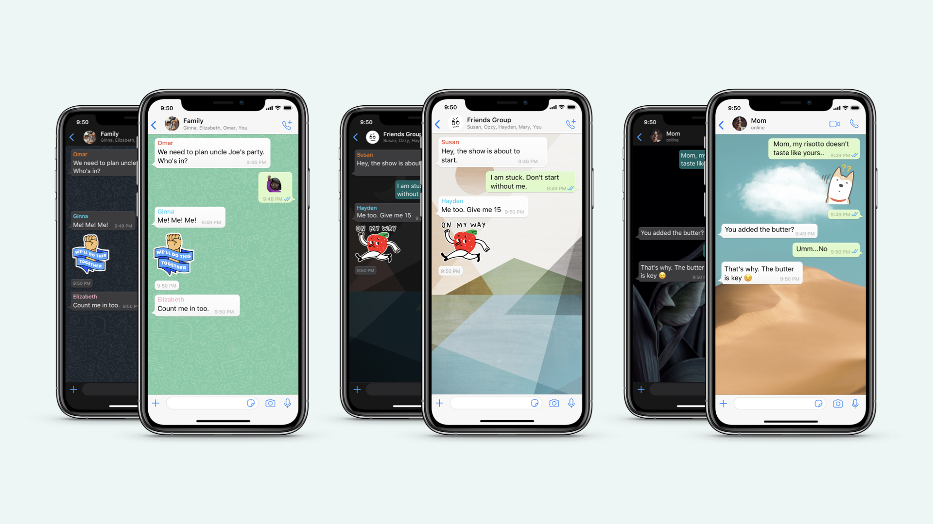 photo of WhatsApp iOS update brings custom wallpapers for individual chats, sticker search, more image