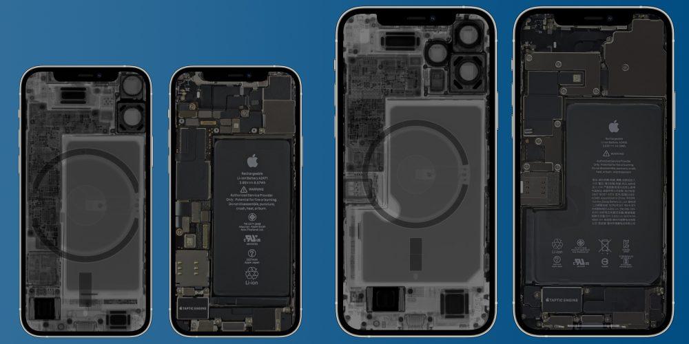 iPhone 12 mini Pro Max x-ray internal wallpapers