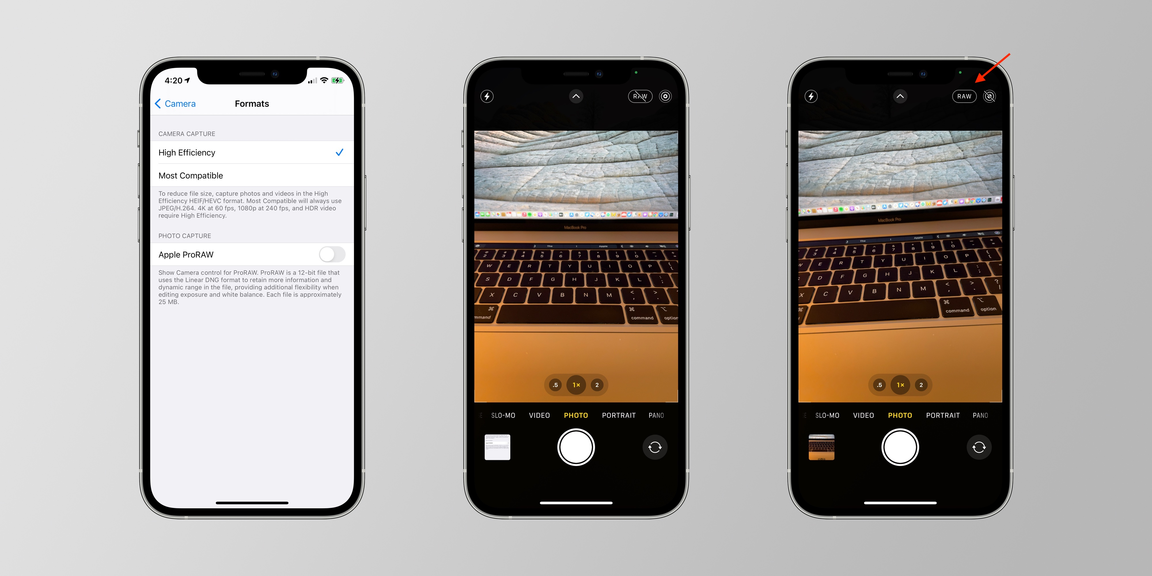 Ios 14 3 Adds New Proraw Photo Format On Iphone 12 Pro And Iphone 12 Pro Max 9to5mac