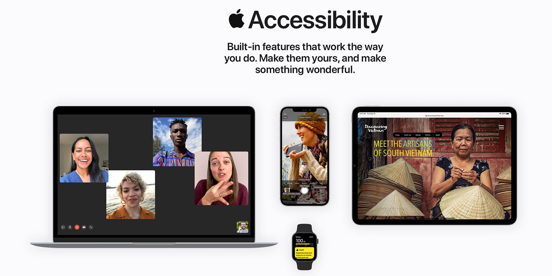 photo of Apple Accessibility website gets major revamp: 'Make something wonderful' image