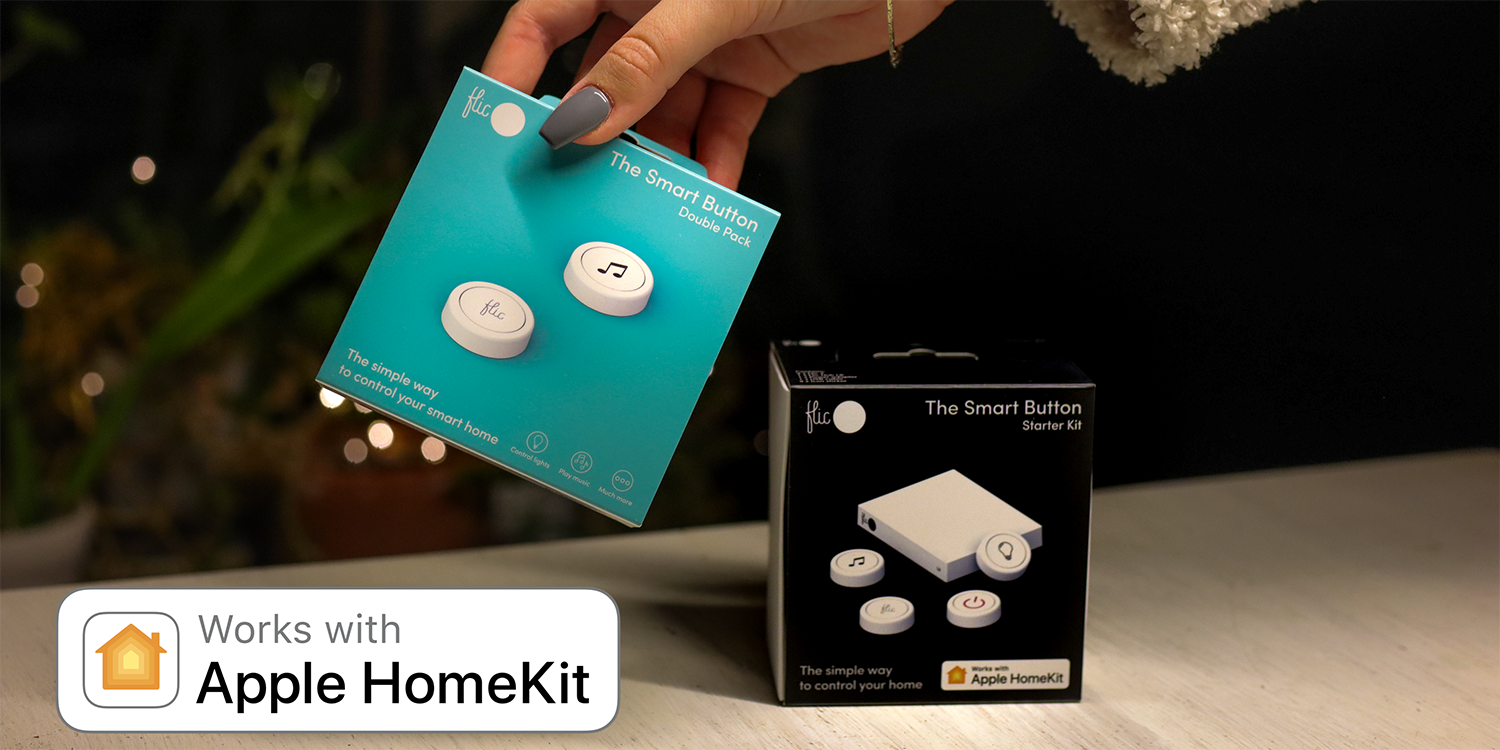 photo of Flic smart home buttons get HomeKit support and more image