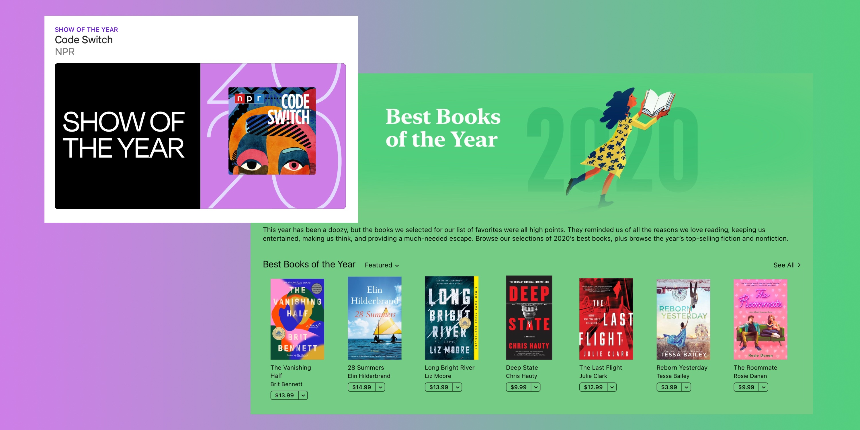 photo of Apple reveals most popular books, podcasts of the year including first-ever show of the year image