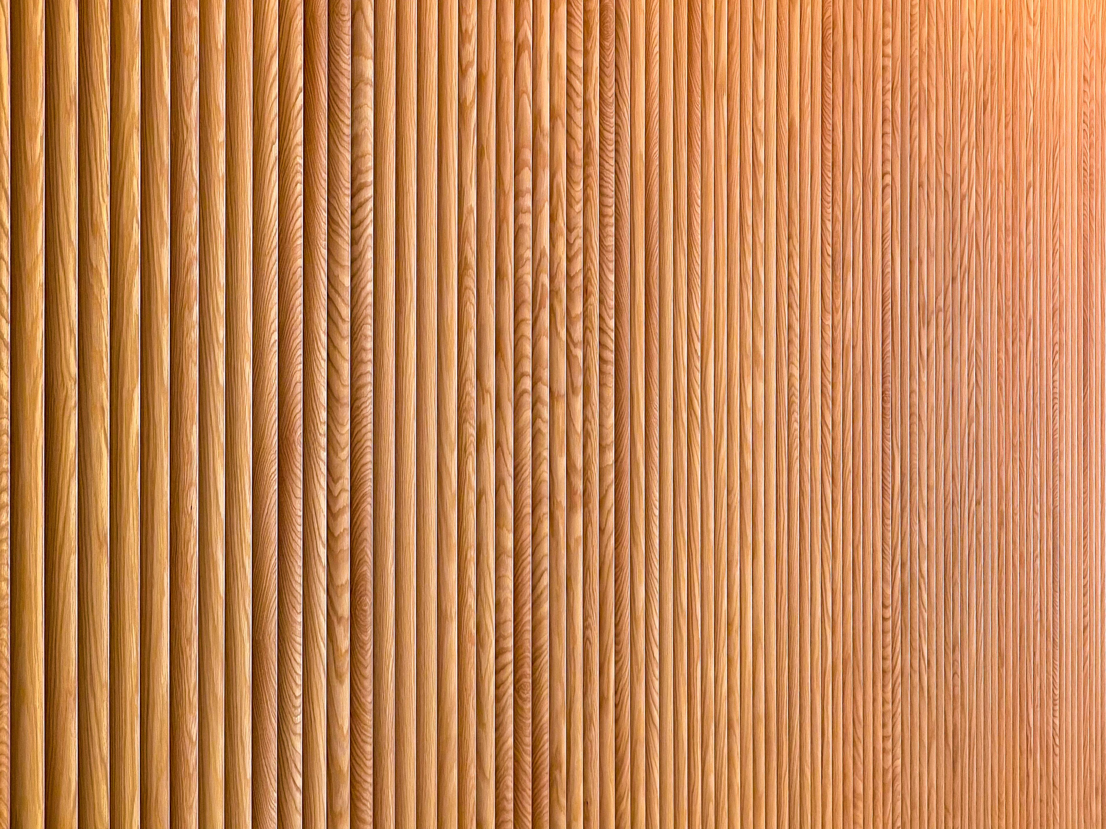 Mark Richie Woodworking Slat Walls, Arup Acoustic Design