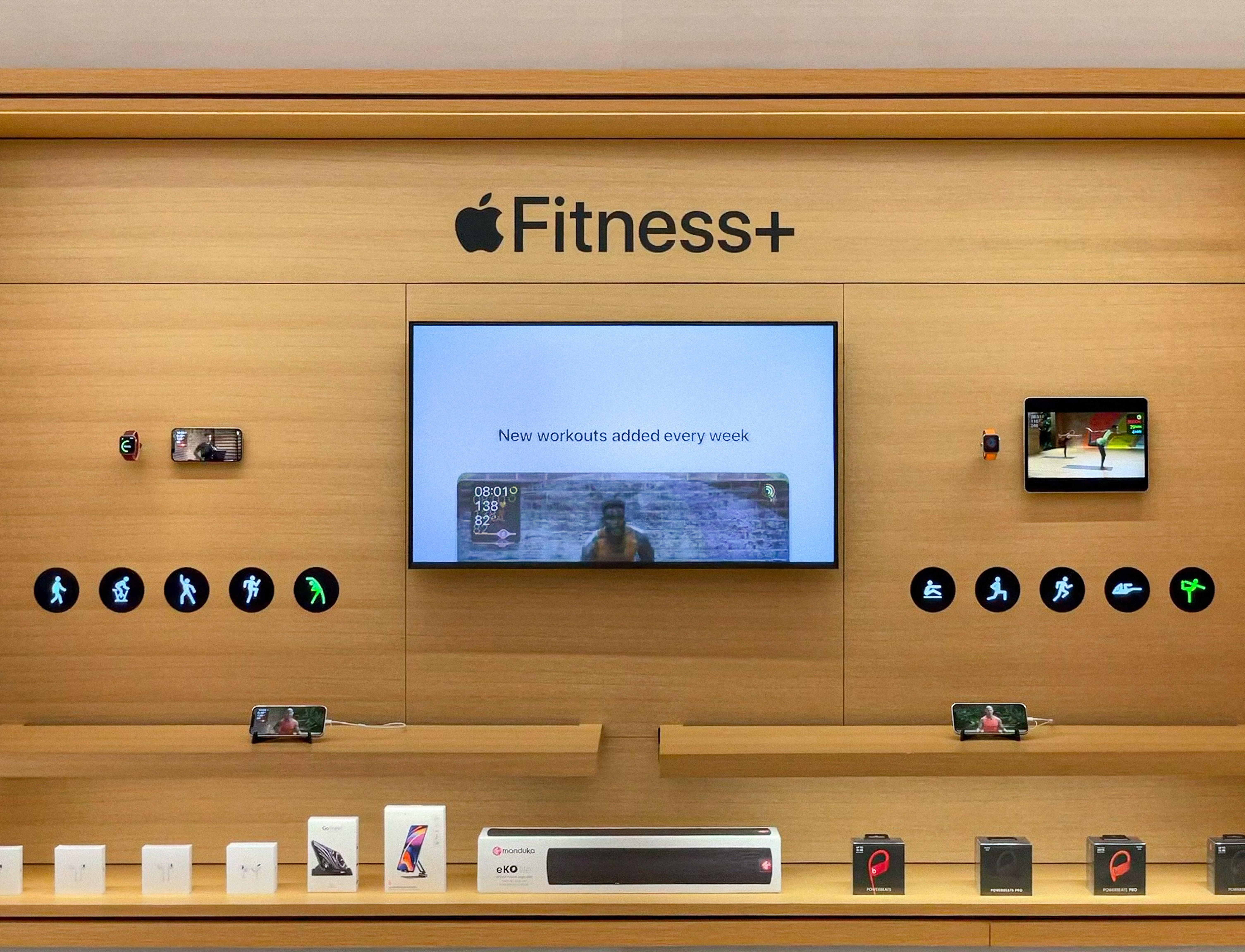 Apple Fitness Plus avenue