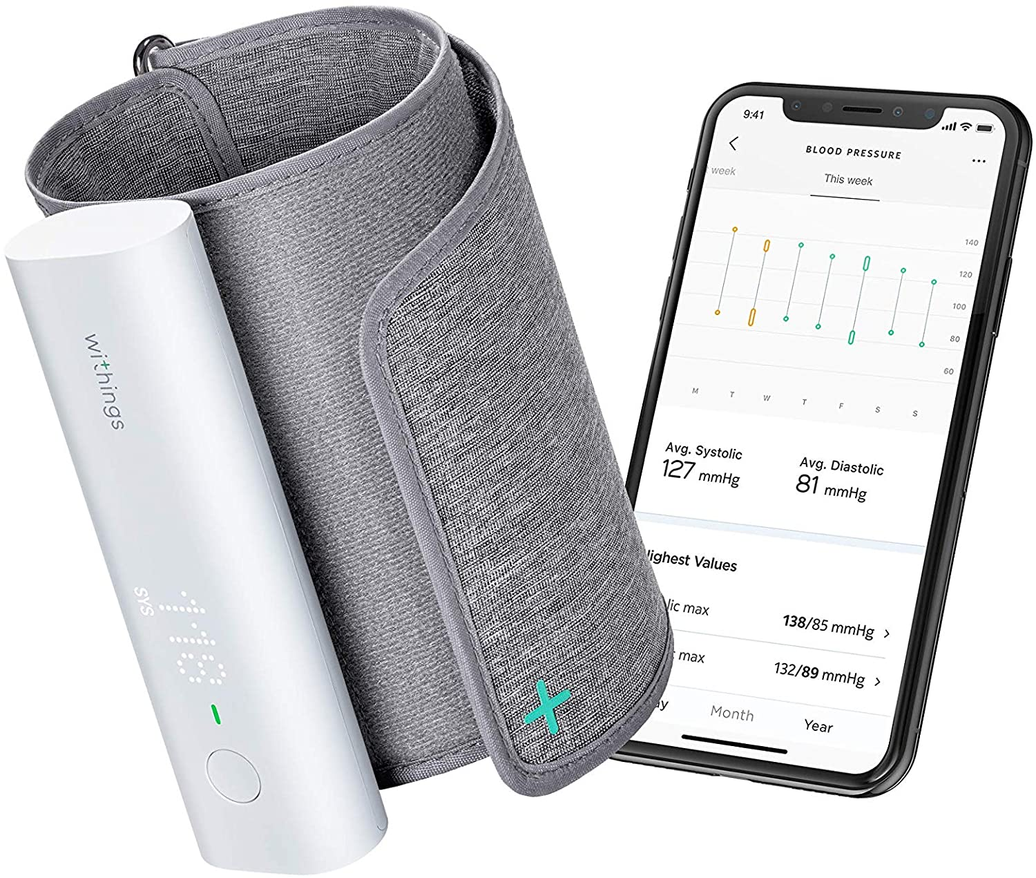 Smart health/fitness devices gift guide blood pressure monitor