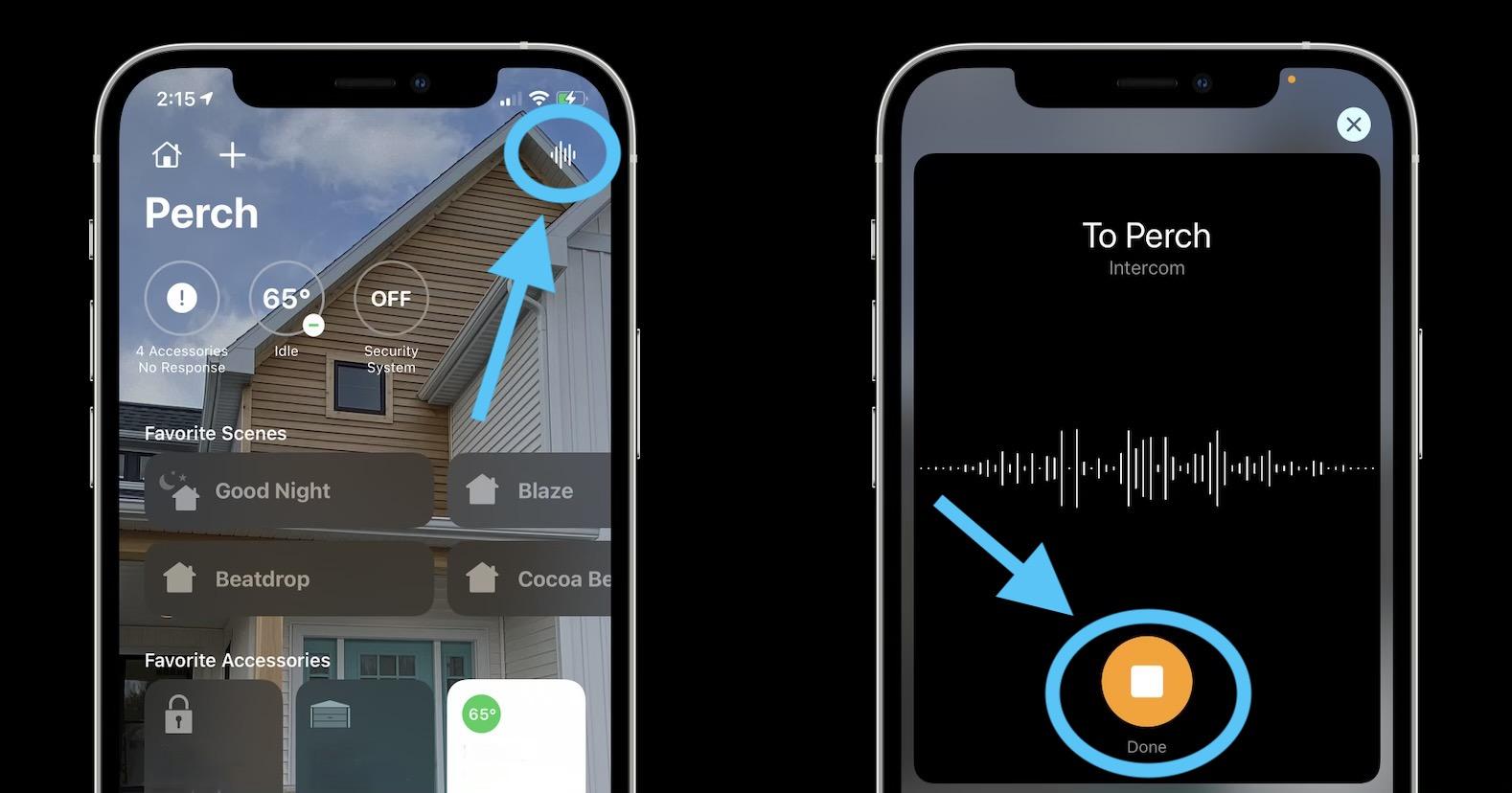 How to use HomePod Intercom feature walkthrough 2