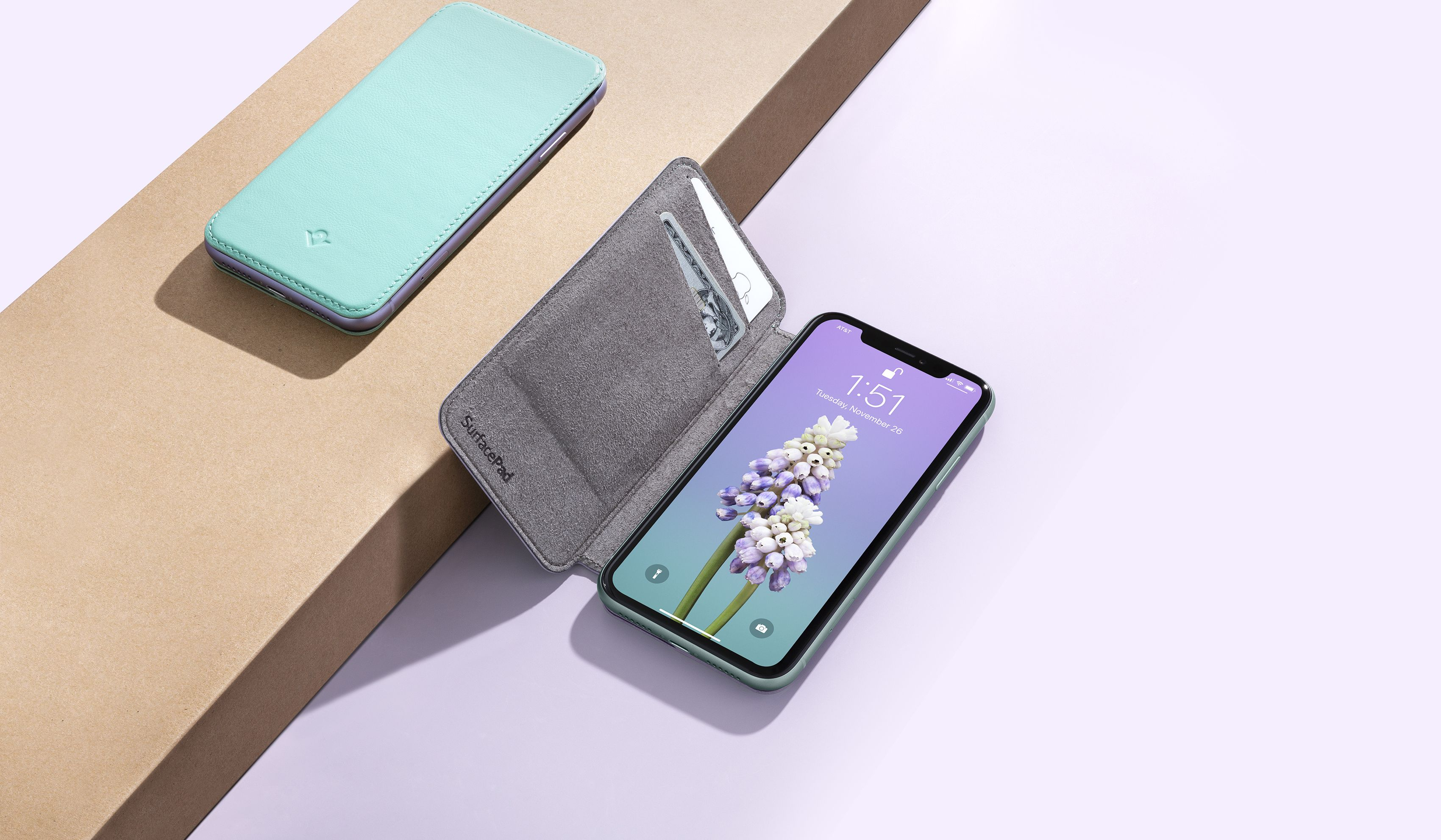 iPhone wallets gift guide smart wallets Twelve South SurfacePad