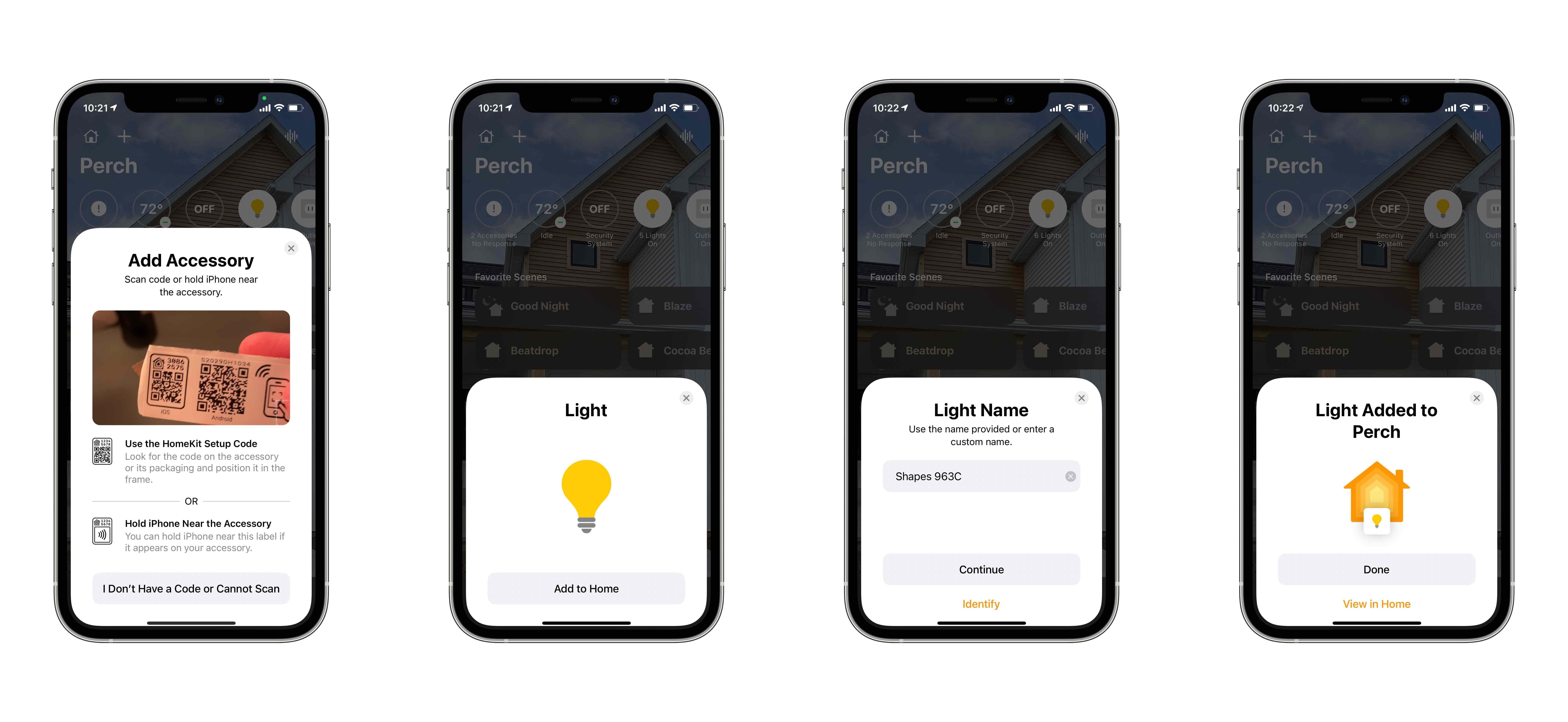 Review Nanoleaf Shapes HomeKit light panels set up process