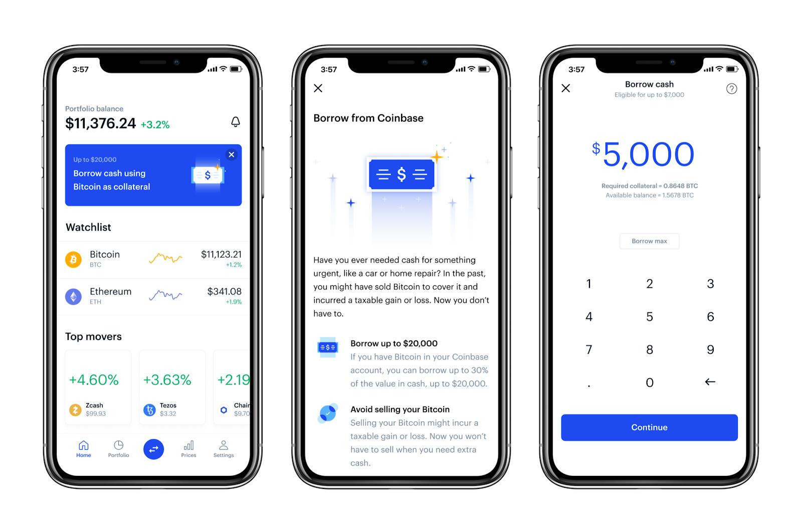 coinbase bitcoin app iphone