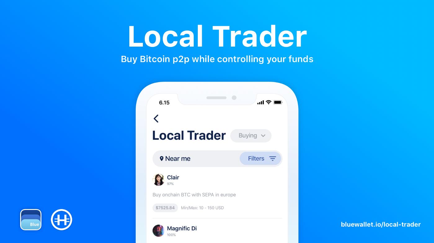 aplicación bitcoin blue wallet