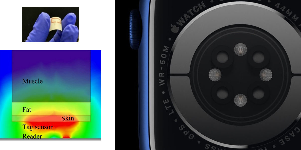 photo of Here's how Apple Watch blood glucose monitoring could work, with a skin tag image