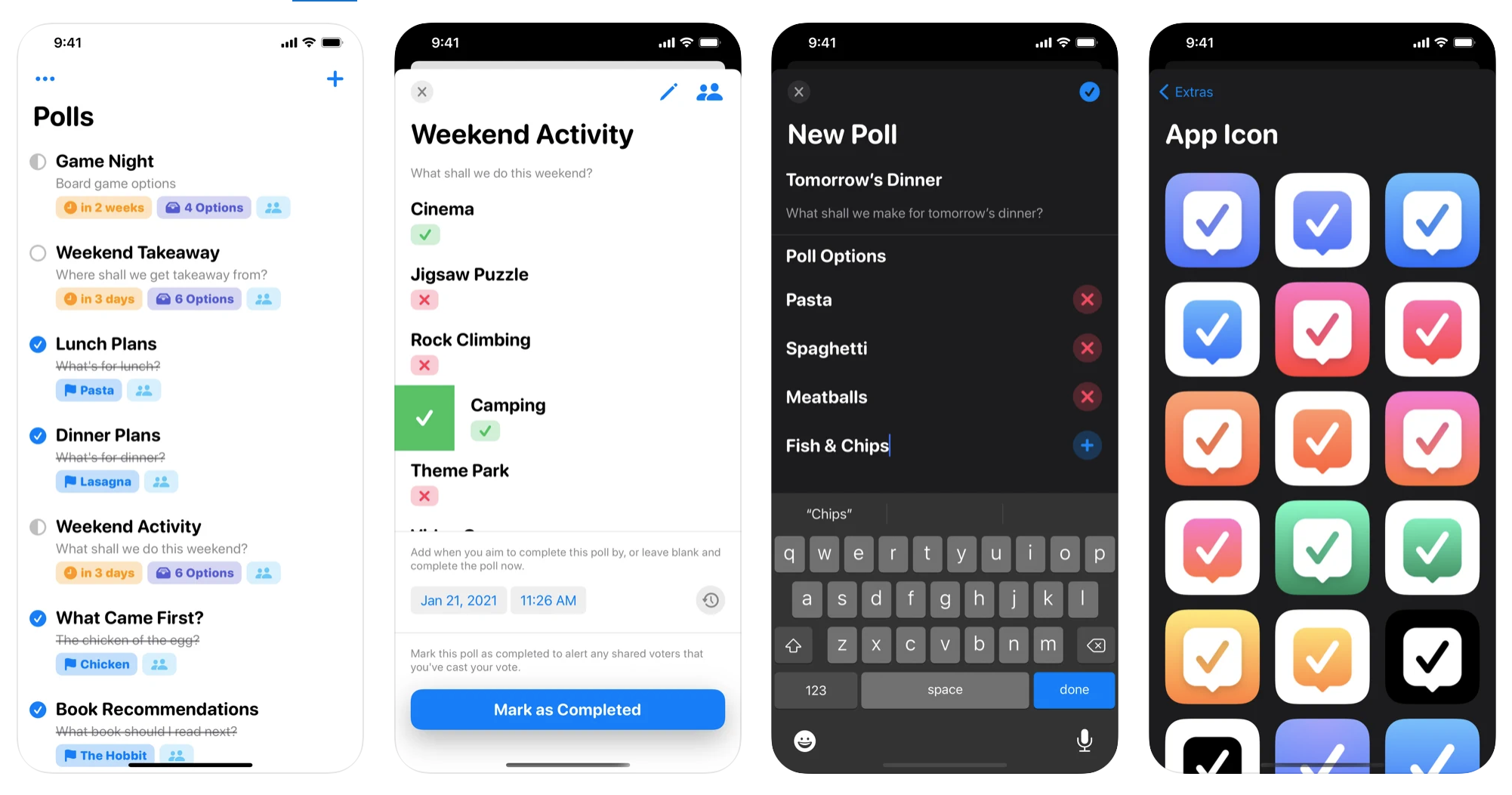 Make iPhone polls with Agree app for iPhone, iPad, and Mac