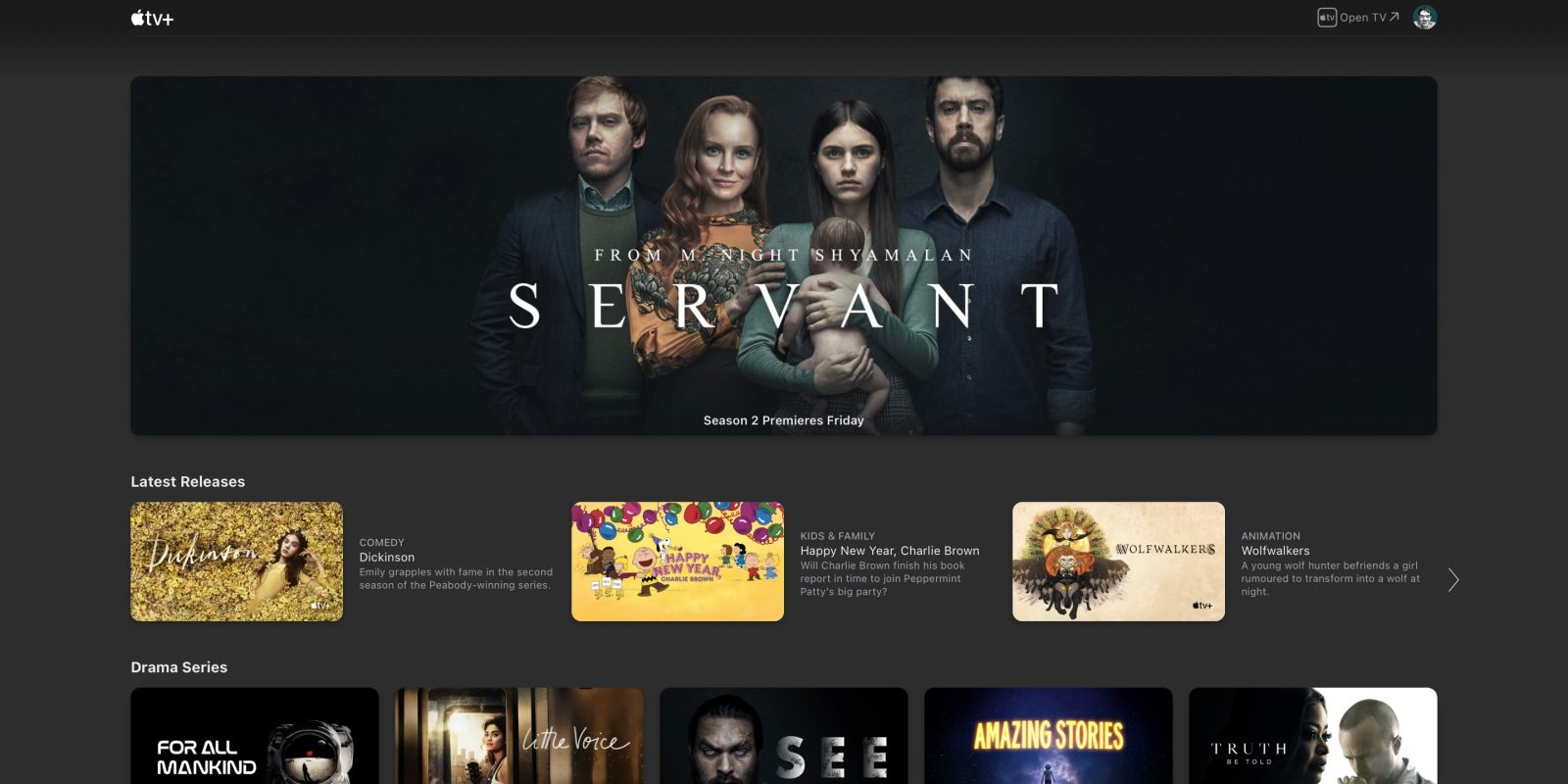 Apple TV+ website gets first UI update since the streaming service launched - 9to5Mac