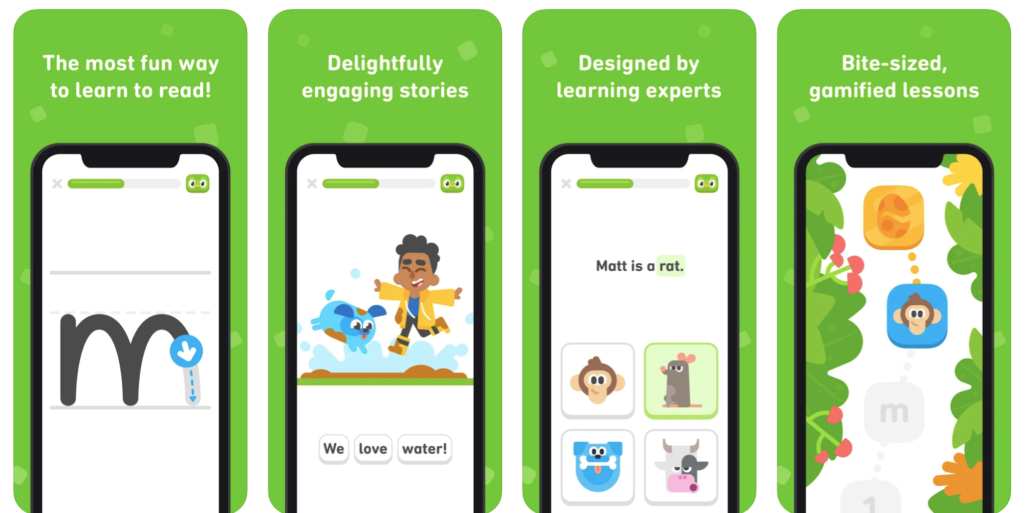 Best apps for young kids - Duolingo ABC