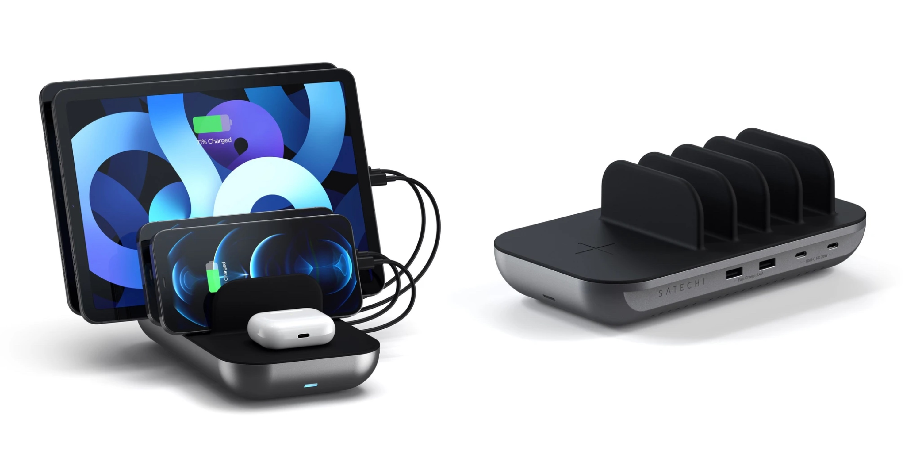 Best multi-device chargers for families with iPhone, iPad, more - Satechi Dock5