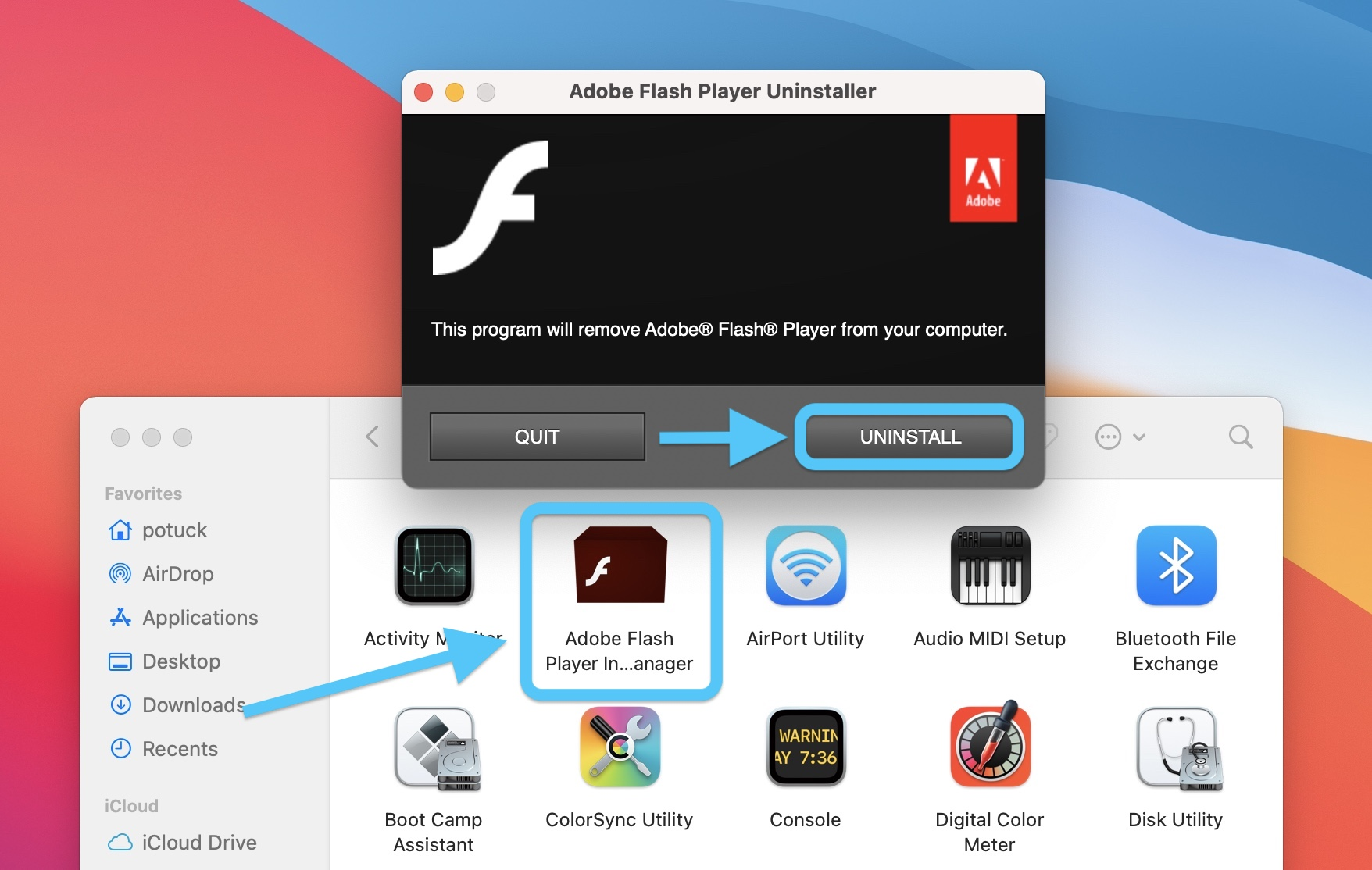 How to remove Adobe Flash from your Mac walkthrough 2