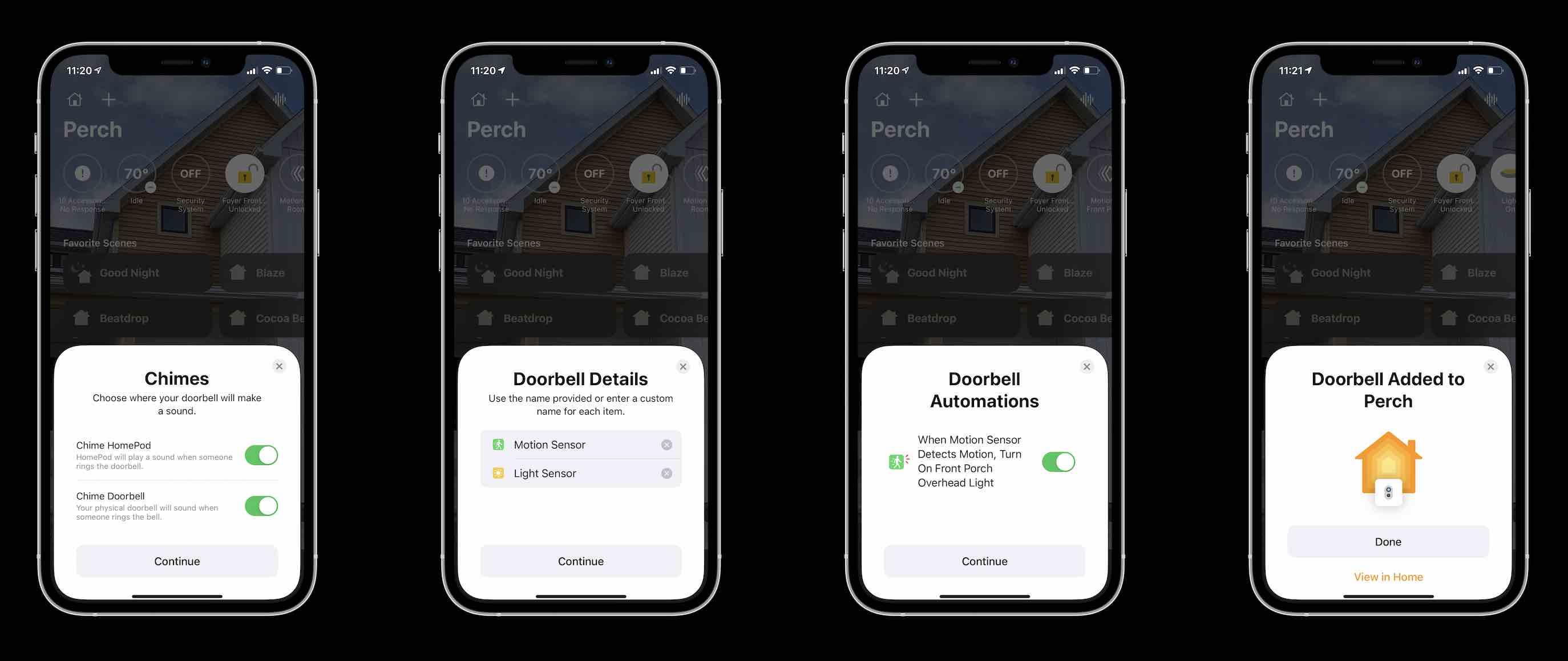 Logitech HomeKit doorbell - set up process 2