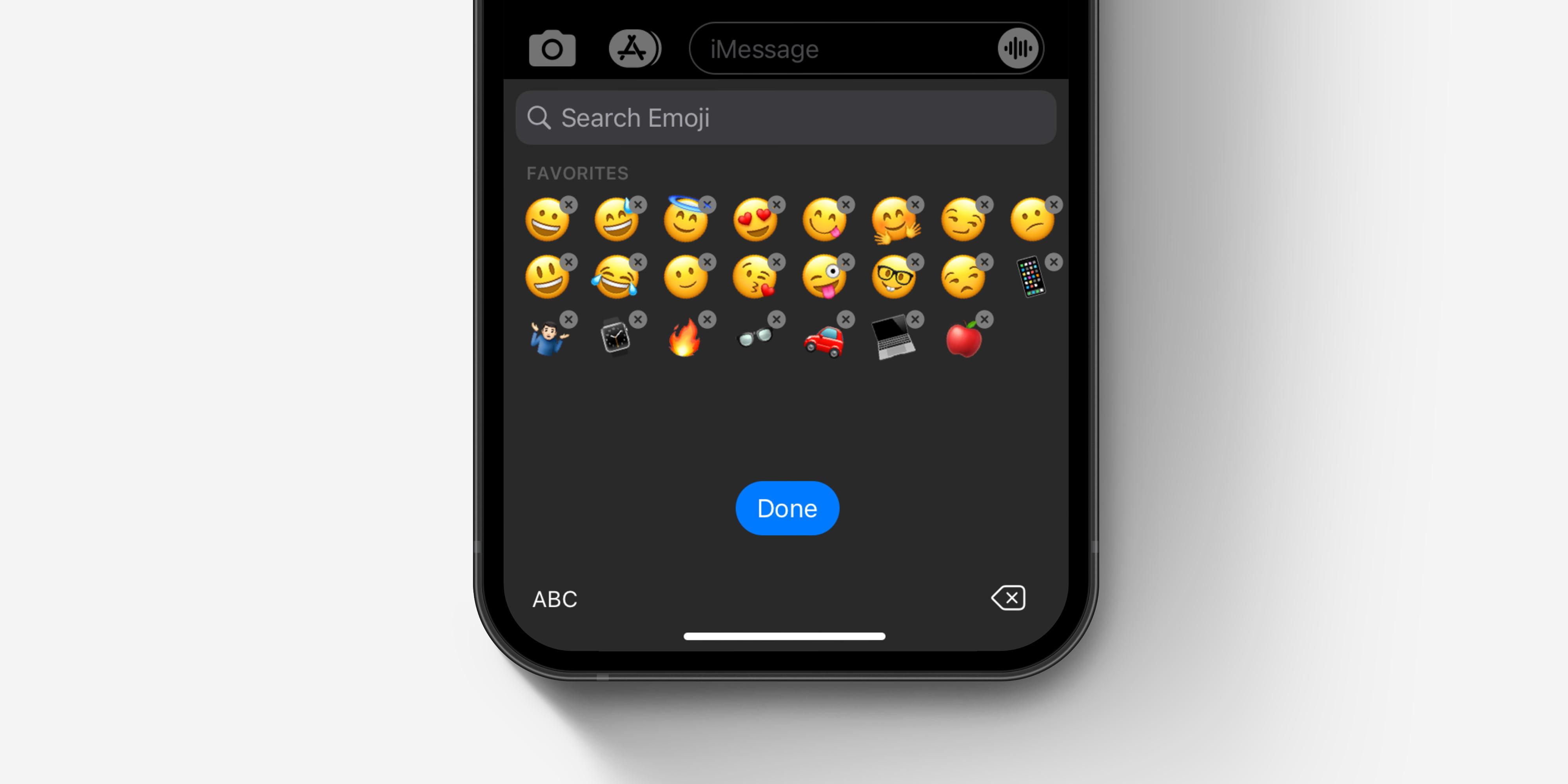 Teclado emoji de iOS cómo eliminar y reorganizar el concepto de emoji