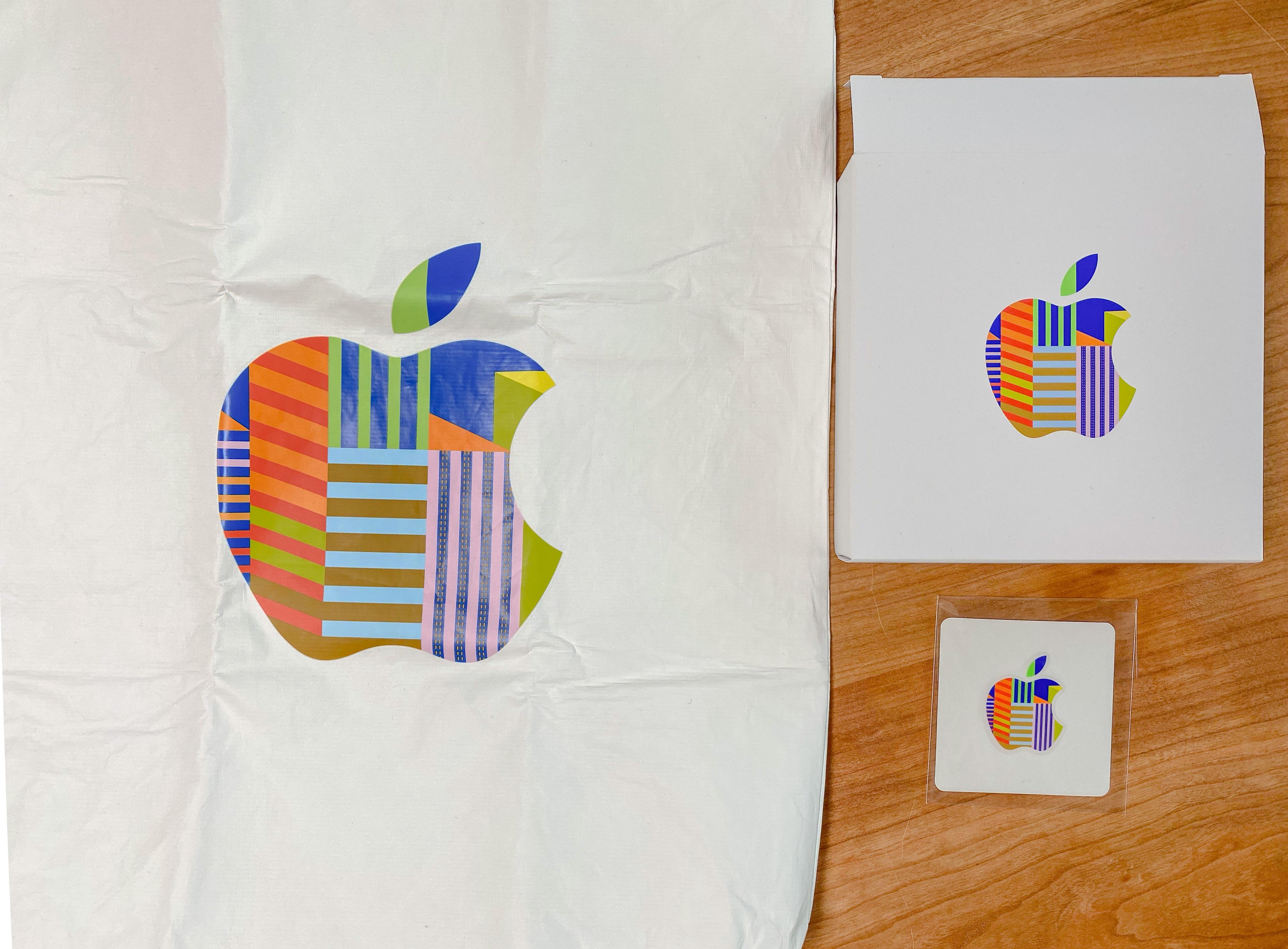 Souvenir tote bag and sticker
