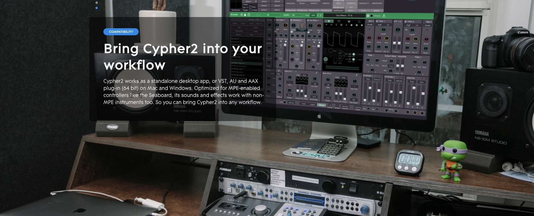 Cypher2 Logic Pro free plug-ins, deals
