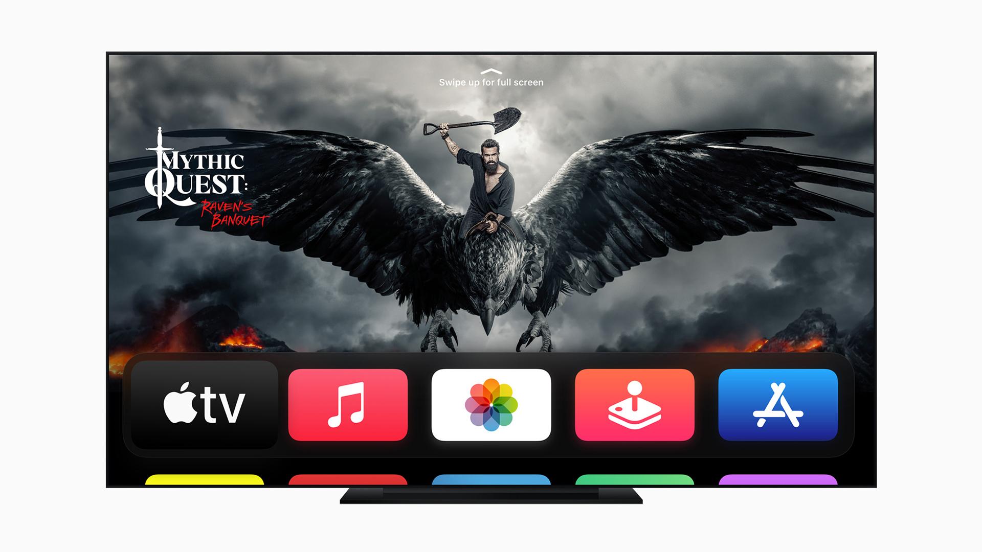 apple tv 4k tvos 14