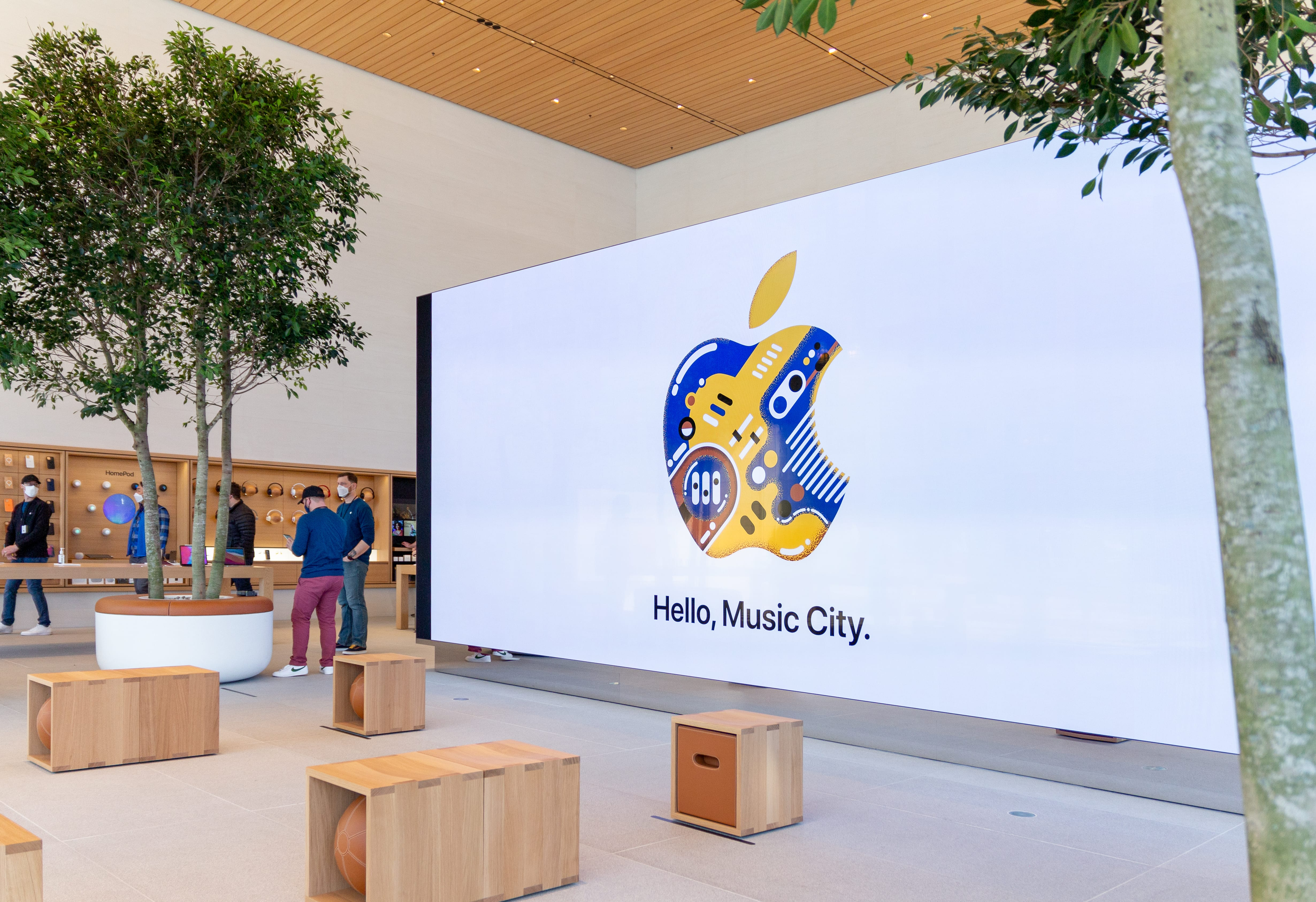 Video Wall and Forum
