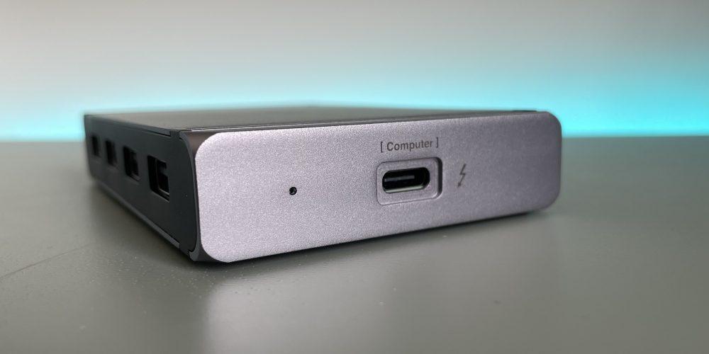 CalDigit Element Thunderbolt 4 Hub review – side